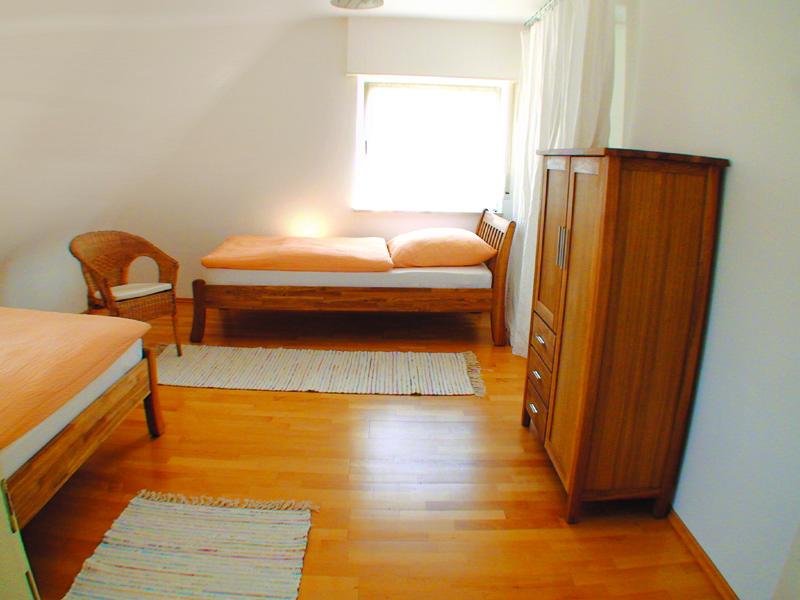 Bild Schlafzimmer Einzelbetten